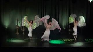 Bellydance-Formation Malea auf der World of Orient 2018(Gala)