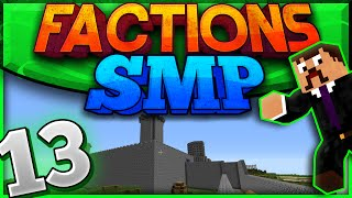 Minecraft Factions SMP #13 - Extending The Base!! (Private Factions Server)