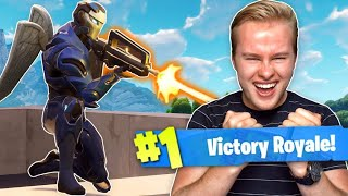 WINNEN MET DE NIEUWE LEGENDARY ASSAULT RIFLE!! - Fortnite Battle Royale (Nederlands)