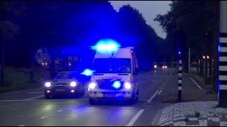 (Nieuwe) 20-143 met spoed naar een melding in Tilburg