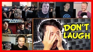 Markiplier - Try Not To Laugh Challenge #5 Reaction Mashup