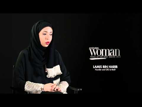 Emirates Woman Woman Of The Year Awards 2015, Humanitarians Nominee — LAMIS BIN HARIB