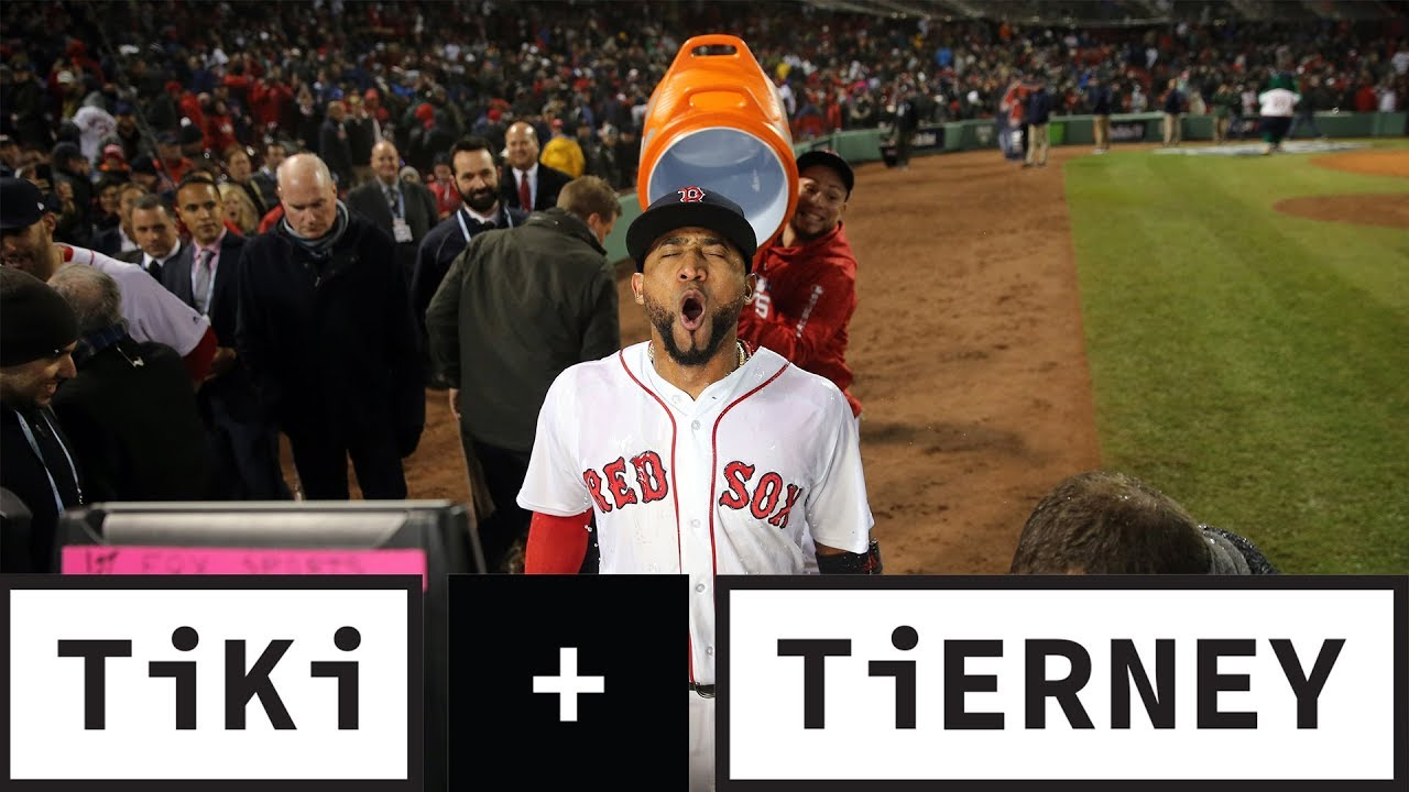 Red Sox win Game 1 - Tiki & Tierney