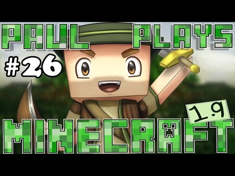 Paul Plays Minecraft - E26 - New HUSK Mob & Igloo! (Minecraft Survival)