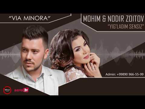 Mohim & Nodir Zoitov - Yig'ladim sensiz (karaoke version)