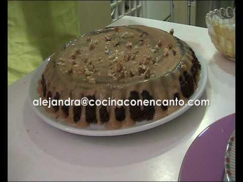 Receta de Postre de Chocolate Postres recetas Receta CaseraTarta de Brownie con Dulce de leche