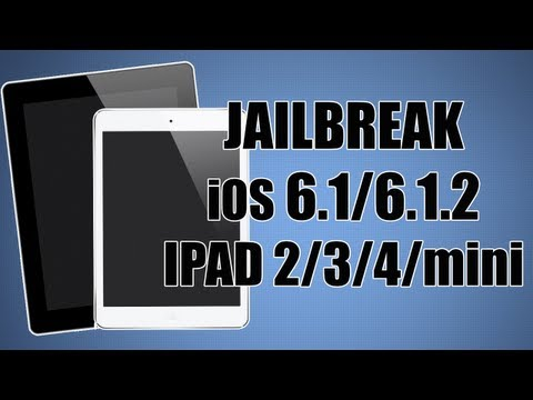 Jailbreak UNTETHERED iPad 2. 3. 4. mini (iOS 6. 6.0.1. 6.0.2. 6.1. 6.1.2) - Español
