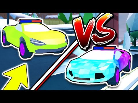 LAMBO IS FASTER THAN MCLAREN!? WHAT!? (Roblox Jailbreak New Winter Update)