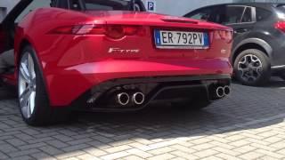 Jaguar F Type exhaust – engine sound