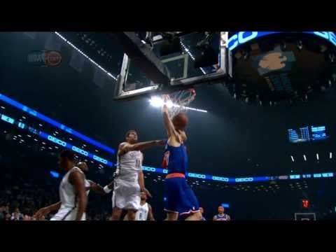 Andrea Bargnani Blows by Garnett for the BIG Slam