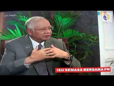 SOAL JAWAB: TAK SETUJU BINA JAMBATAN BENGKOK ANTARA PUNCA TUN M MARAH NAJIB