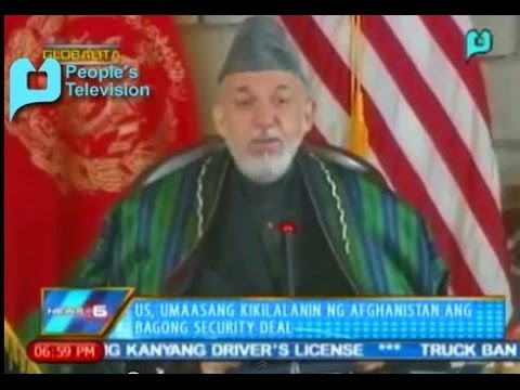 Globalita: US, umaasang kikilalanin ng Afghanistan ang bagong security deal....Feb. 6, '14