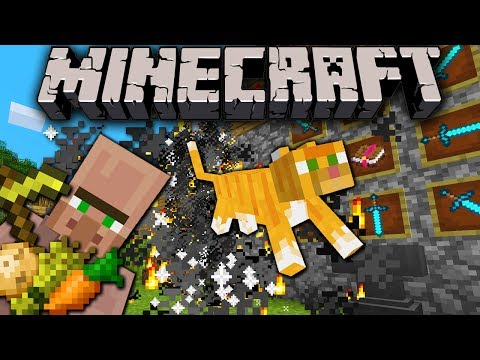 Minecraft 1.8 Snapshot: Villagers Farm/Craft, X-Ray Cheat Fix, Particles, Button