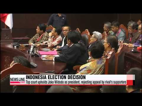 Joko Widodo, Prayuth confirmed as new leaders of Indonesia, Thailand   인니 헌재 ′대선
