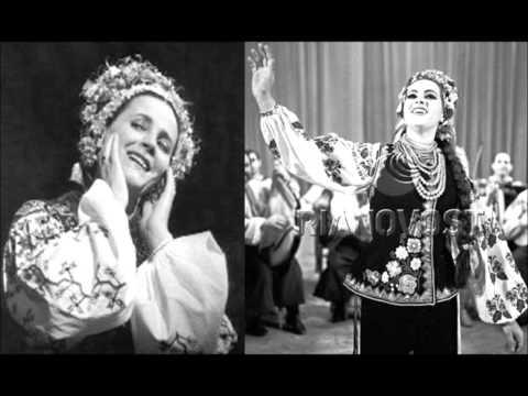 Ніна Матвієнко i В.Хиценко Цвіте терен хор  Верьовки