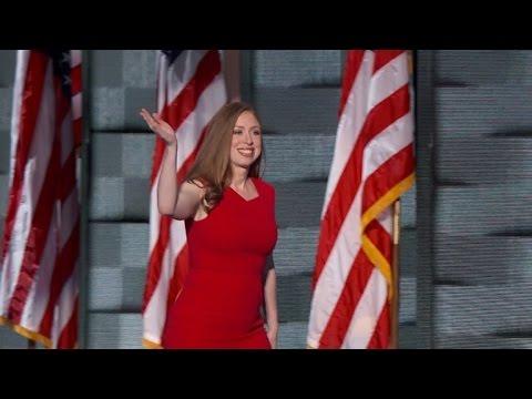Chelsea Clinton Praises Her Mother Hillary In Touching DNC Speech