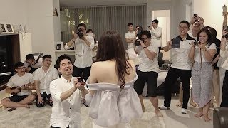 Download Lagu EPIC Marriage Proposal In A Fake Party Gratis STAFABAND