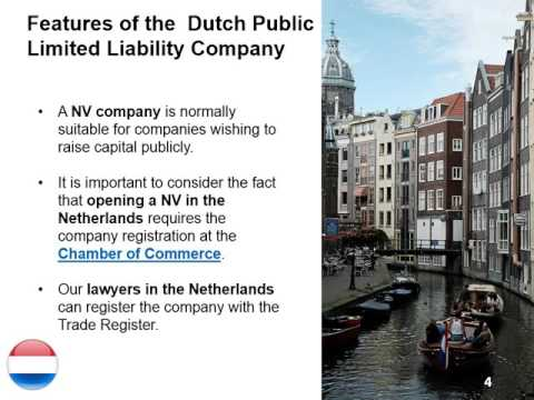 Open a Public Limited Liability Company in the Netherlands