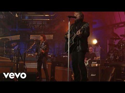 Bon Jovi - We Weren't Born To Follow (Live @ Letterman)