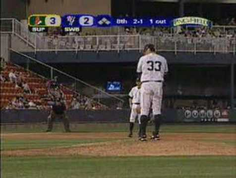 Joba Chamberlain 8th inning vs. Buffalo