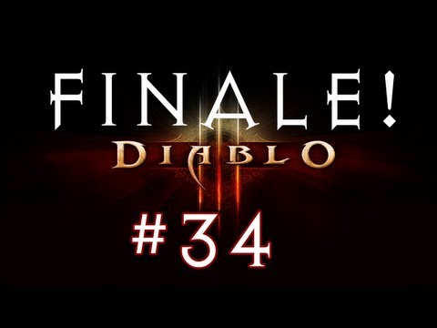 Diablo 3 Co-op Campaign Walkthrough / Gameplay w/ Clash Part 34 - FINALE
