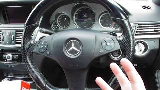 Mercedes E Class W212 Transmission Reset How To Guide & Tutorial