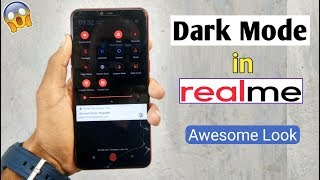 Dark Mode in All RealMe Devices (Awesome Look) Best Modification