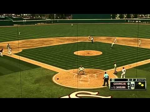 05/11/2013 Georgia vs South Carolina Baseball Highlights