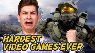 HARDEST VIDEO GAMES EVER (Squad Vlogs - Lunchtime)