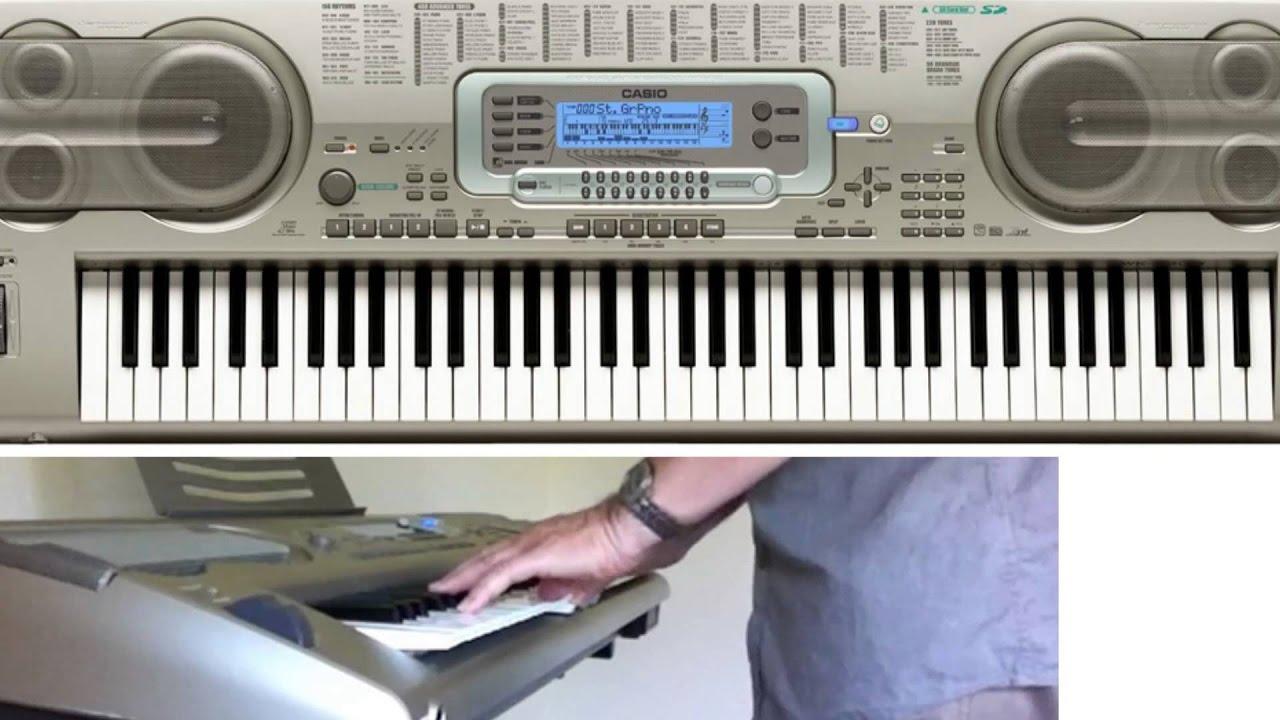 Как сделать клавиатуру на синтезаторе