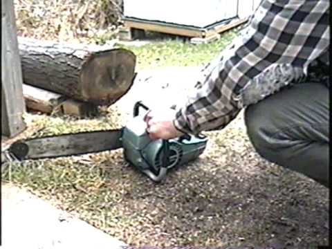 TEST RUN and Quick Overview of Vintage Craftsman Chainsaw