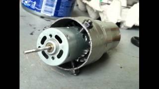 Homemade jet engine   (PHIL-V40237) turbofan