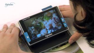 Portable Video Magnifier Optelec Compact 5 HD: How it works