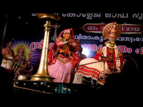 Karnasapatham Kathakali-2, Kalamandalam Gopi As Karnan video