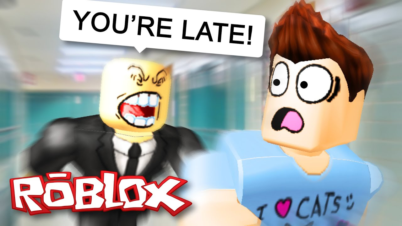 Roblox Adventures / Escape High School Obby / Escaping My Evil Teacher!