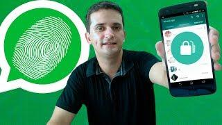Se seu CELULAR tem leitor de digital TEM que conhecer esse aplicativo!!