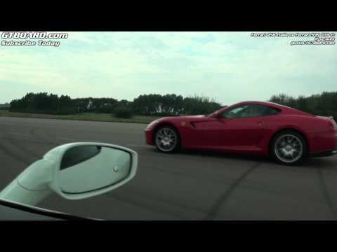 Ferrari 458 Italia vs 599 GTB Fiorano F1 x 2 races