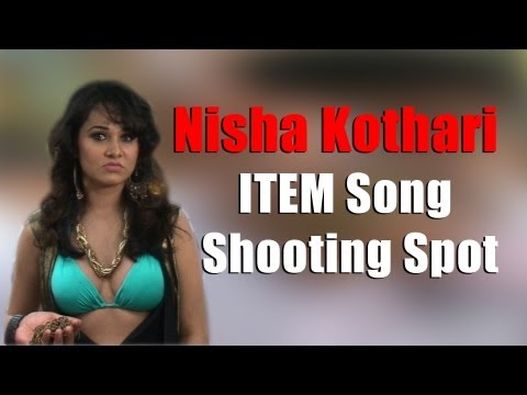 Nisha Kothari's Item Song- Shooting Spot [ Red Pix ] video