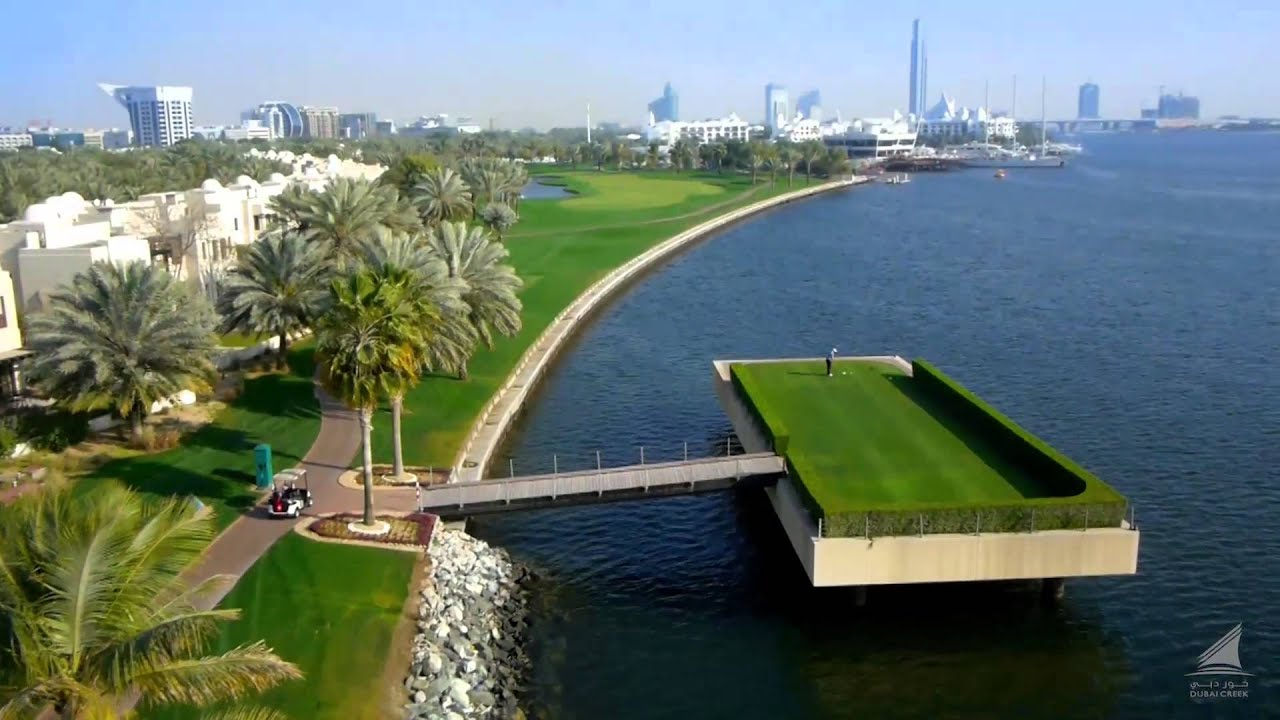 Dubai Creek Golf & Yacht Club - Course Video - YouTube