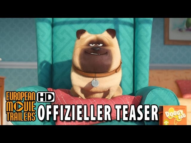 Pets Teaser Trailer German | Deutsch (2016) HD
