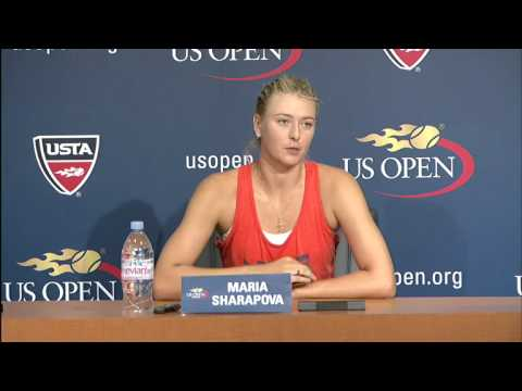 2012 US Open Press Conferences: Maria Sharapova (3rd Round)