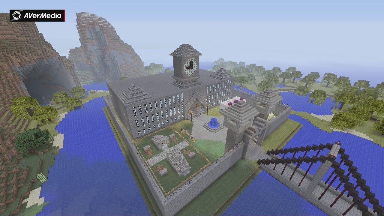 Minecraft Gotham City Arkham Asylum Youtube