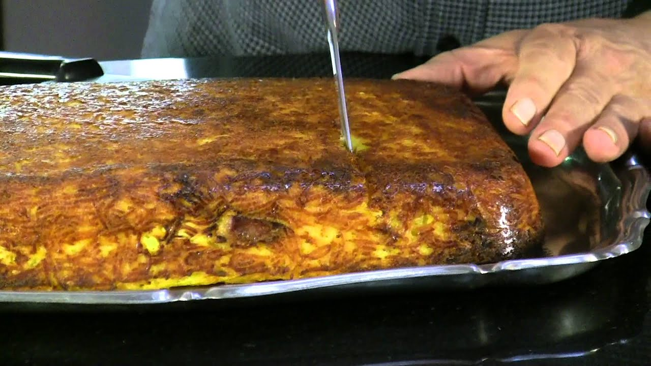 Tahchin Morgh (chicken) - Baked 2 | Persian Food - YouTube