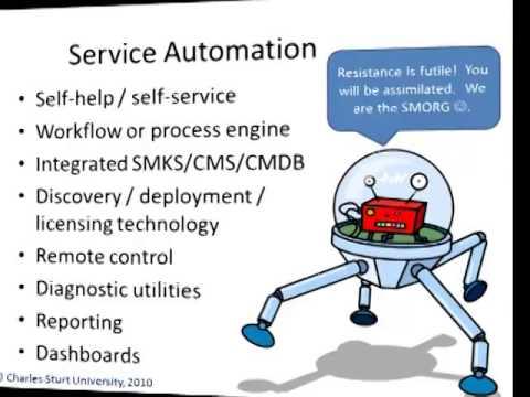 Service Automation Itil Csu Itil v3 Service Automation