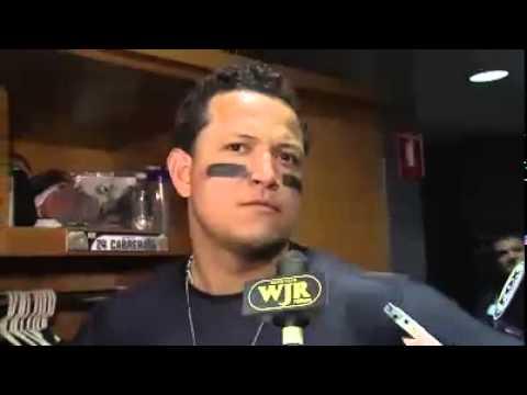 Cabrera y la barrida de los Orioles