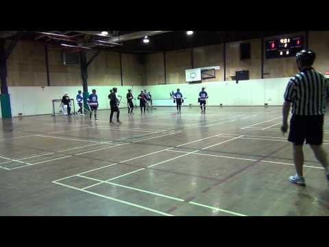 Thrashers Vs. Nwo - Period 2 (12 18 11) Ball Hockey Videos video