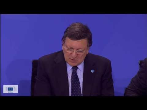 Barroso on US surveillance of the EU and the Transatlantic Trade and Investment Partnership (TTIP)