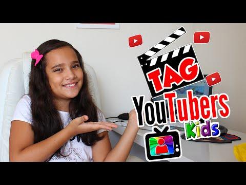 TAG - Youtubers Kids por Juliana Baltar!