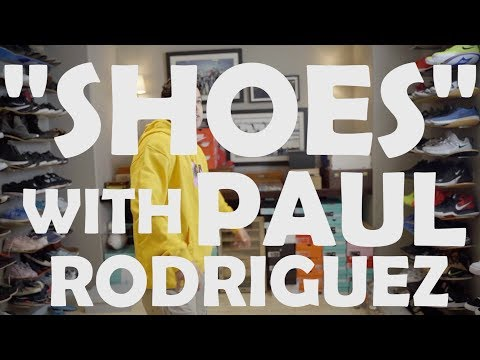 Paul Rodriguez Shoe Collection