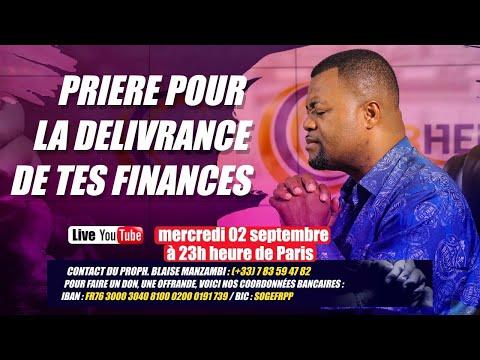 Prière pour la délivrance de tes finance # Prophète Blaise Manzambi #CASARHEMA